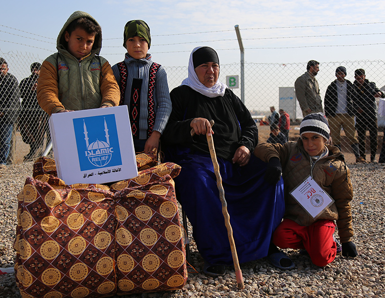 ir-iraq.org Distributing winterization and hygiene kits to Iraqi IDPs and Syrian Refugee's