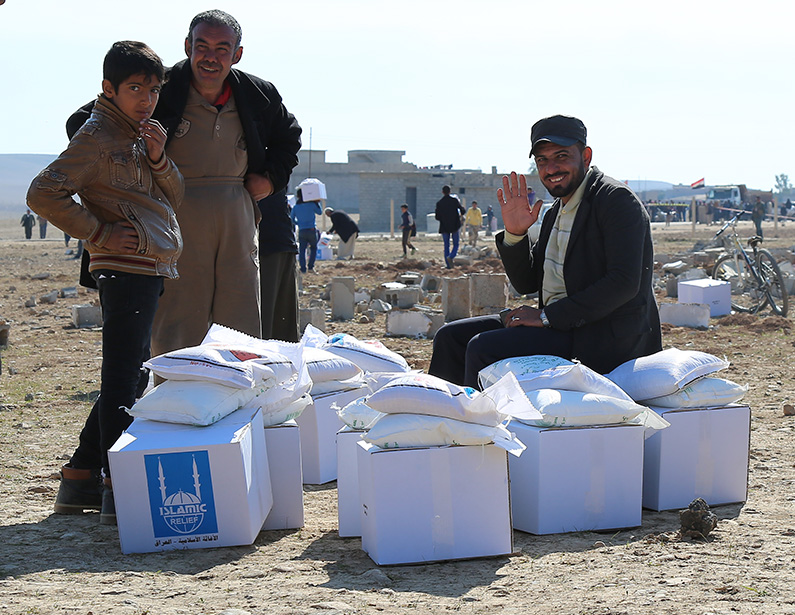 ir-iraq.org Distributing winterization and hygiene kits to Mosul IDPs