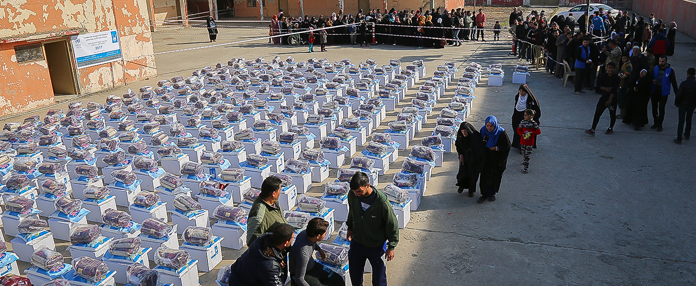 Emergency Food Assistance to the Remainees in Western Mosul and IDPs families in Basateen