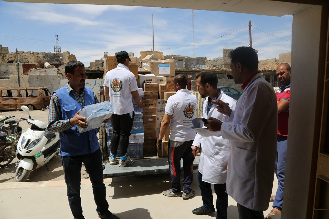 Rehabilitation of health centers in Baghdad and Anbar
